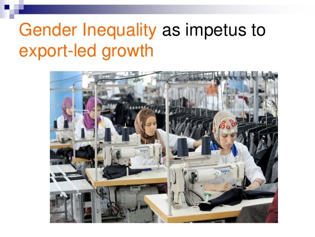 effect of gender equality in the economy What impact has globalisation had on gender equality this study examines the impacts of economic integration, technical change and access to information on gender inequality.