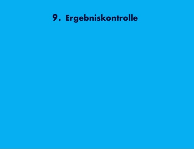 9. Ergebniskontrolle