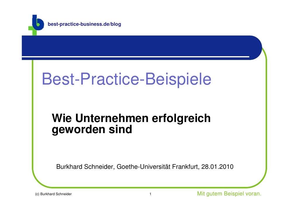 best-practice-business.de/blog        Best-Practice-Beispiele           Wie Unternehmen erfolgreich          geworden sind...
