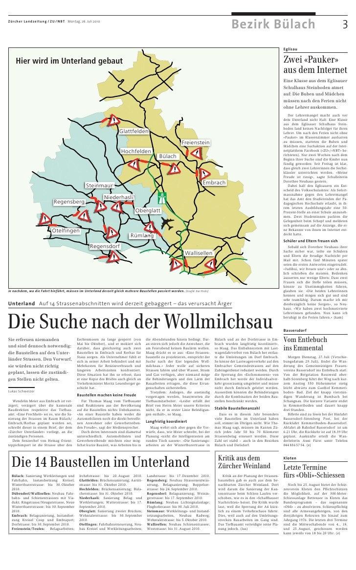 Zwei «Pauker» aus dem Internet: Zürcher Unterländer