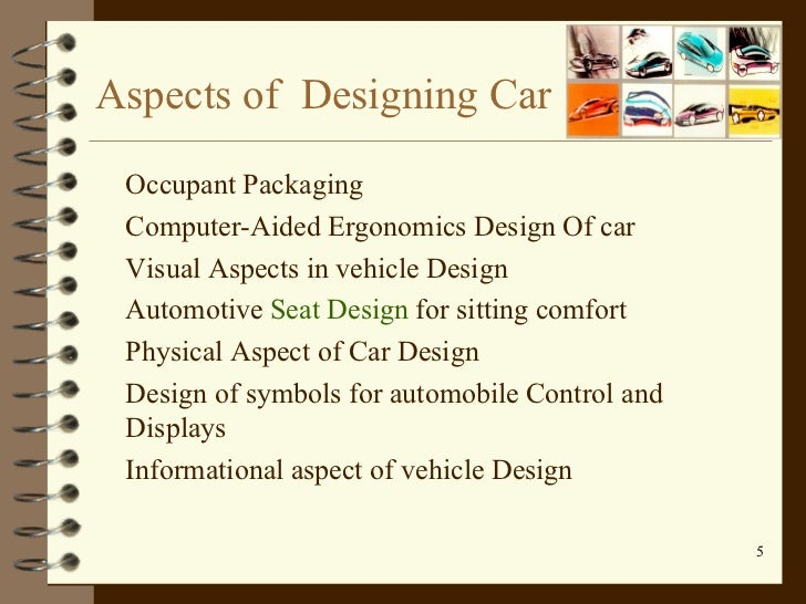 human factors in design of car The human factor in gadget, web design  lab, agrees there's a need for hybrid  people, who can put together a mean car and pimp it out, too.