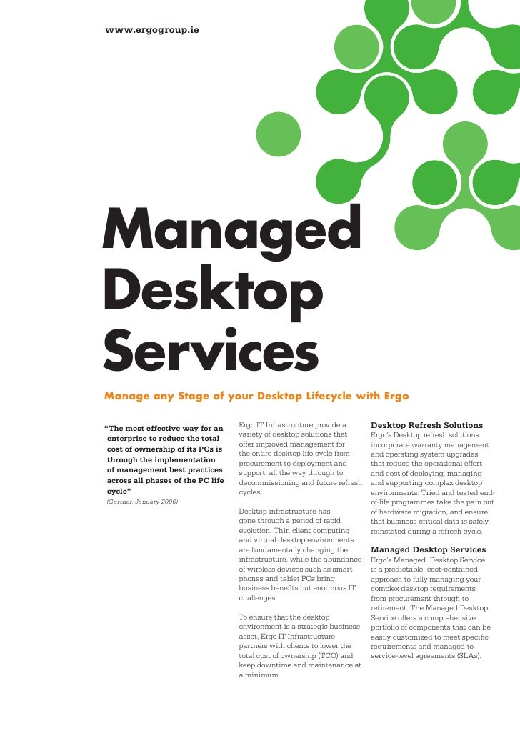 wwwergogroupie managed desktop services manage any stage of your desktop lifecycle with