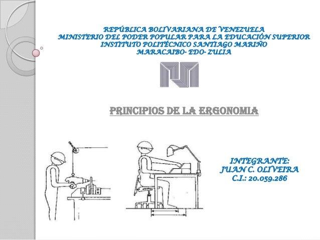 REPÚBLICA BOLIVARIANA DE VENEZUELA MINISTERIO DEL PODER POPULAR PARA LA EDUCACIÓN SUPERIOR INSTITUTO POLITÉCNICO SANTIAGO ...