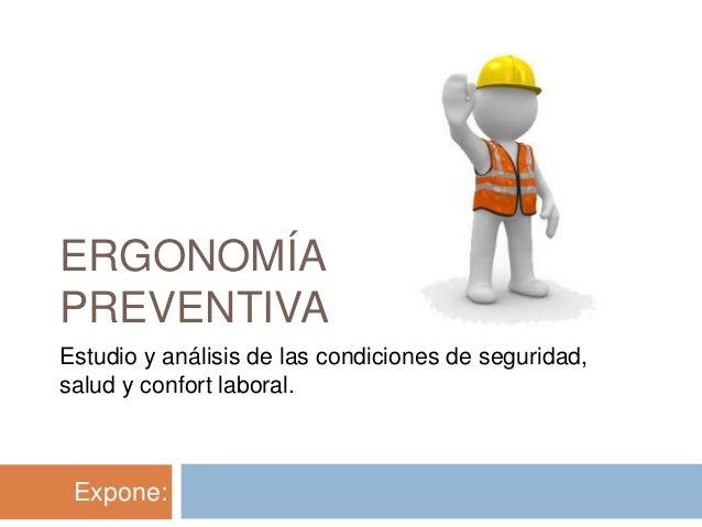 Ergonomia en el campo laboral for Para que sirve la ergonomia