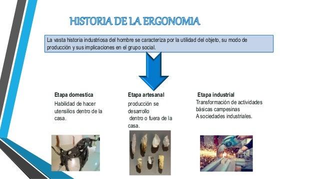Ergonomia ambiental for Caracteristicas de la ergonomia