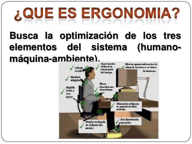 Ergonomia en la oficina for La oficina caracteristicas