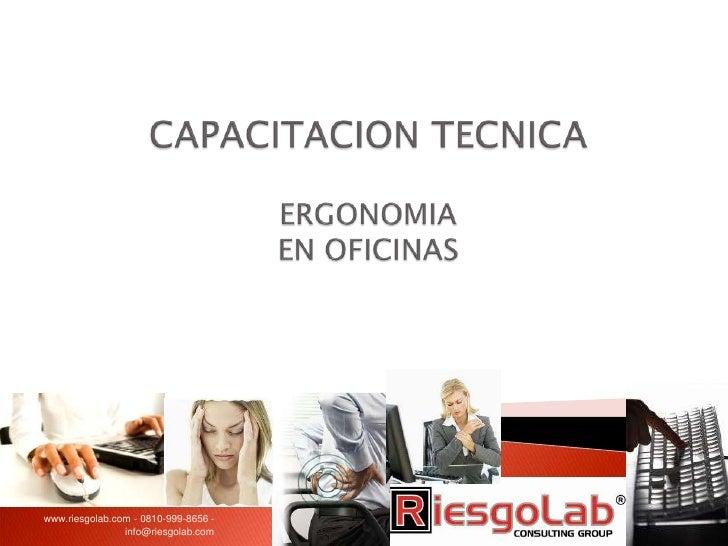 www.riesgolab.com - 0810-999-8656 -                info@riesgolab.com