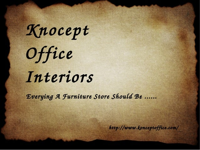 Knocept Office Interiors EveryingAFurnitureStoreShouldBe...... http://www.konceptoffice.com/