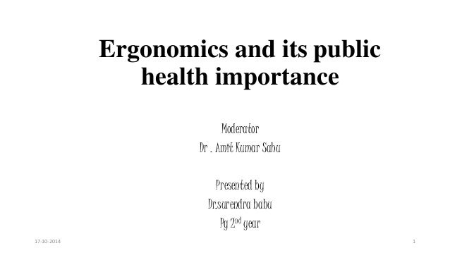 Why public health is important