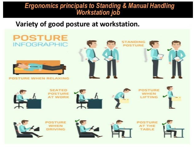 how to move body when doing manual handling