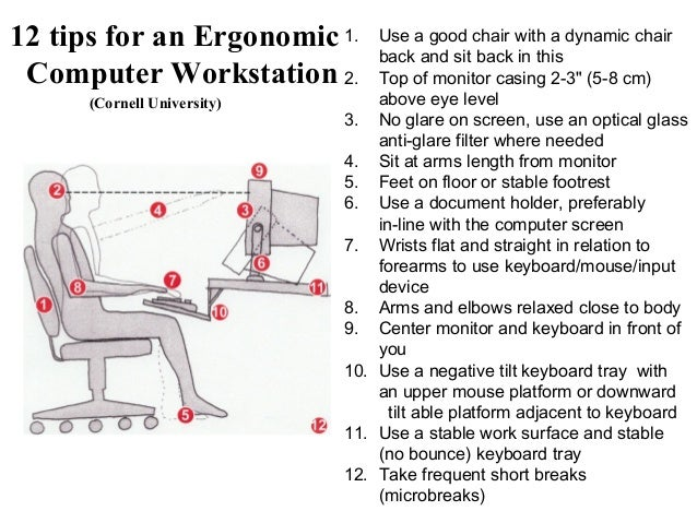 Ergonomic skills