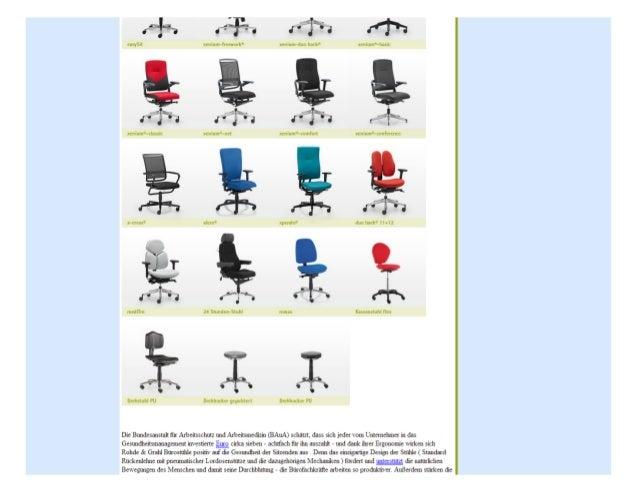 Ergonmische Bürostühle Slide 2