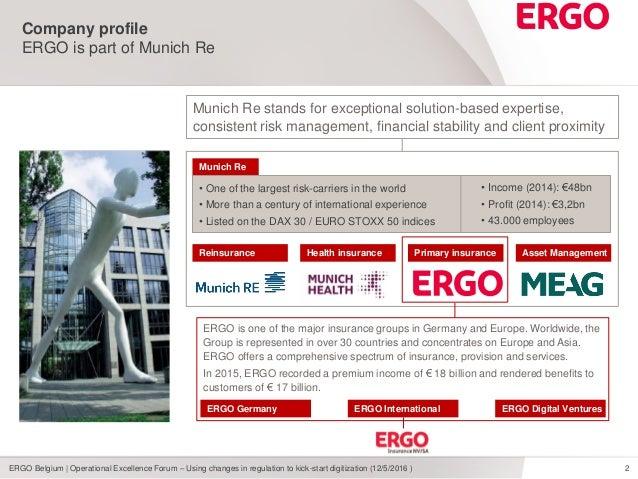 ERGO: regulatory compliance to kick-start digital hybrid Slide 2
