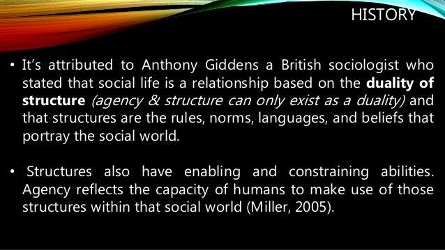 the giddens agency