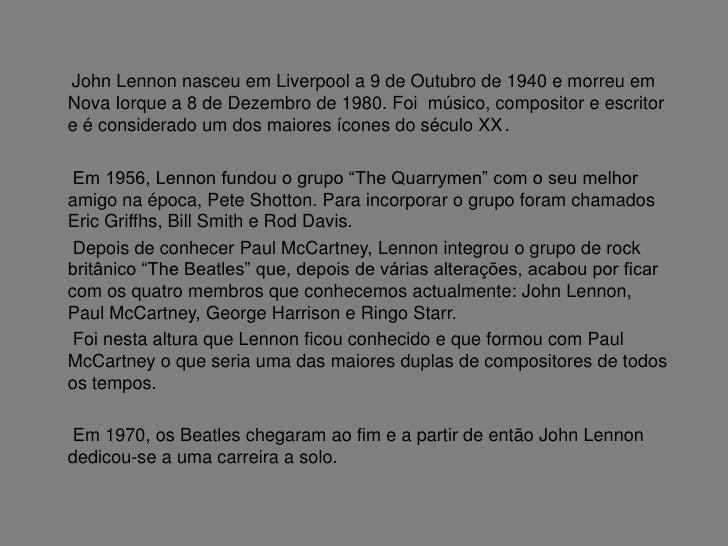 John Lennon Slide 2