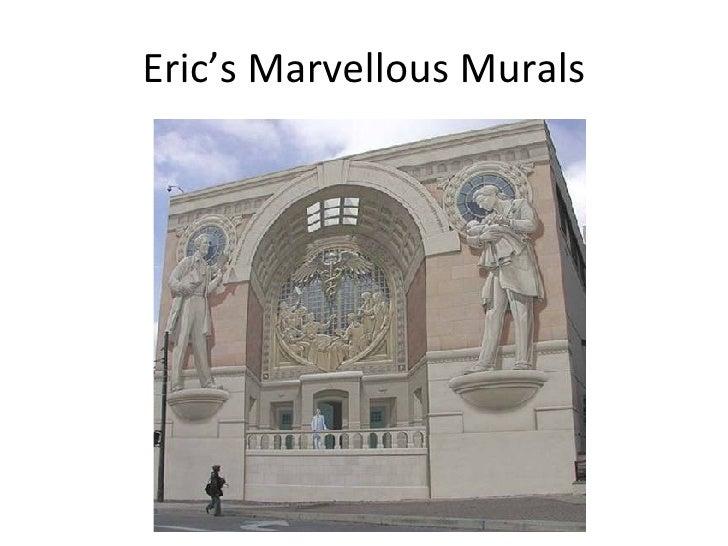 Eric's Marvellous Murals