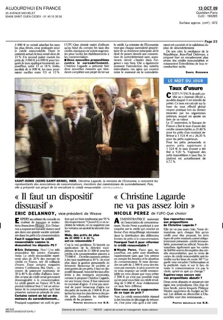 Eric delannoy aujourd 39 hui en france 13 octobre 2009 for Chambre criminelle 13 octobre 2009