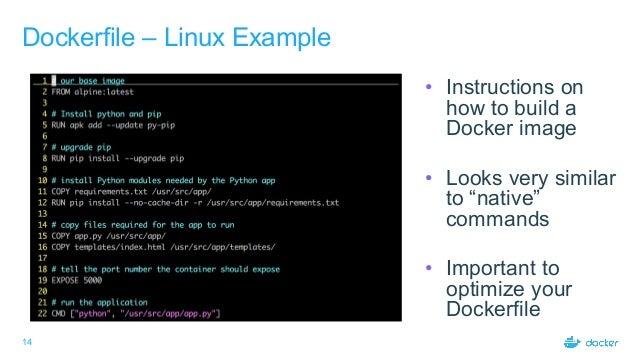 Docker 101 Workshop slides (JavaOne 2017)