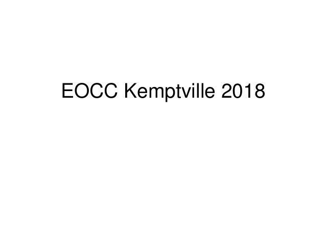 EOCC Kemptville 2018