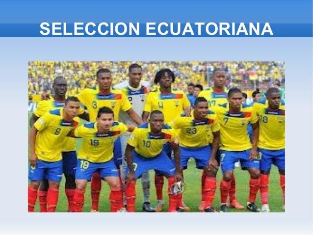 SELECCION ECUATORIANA