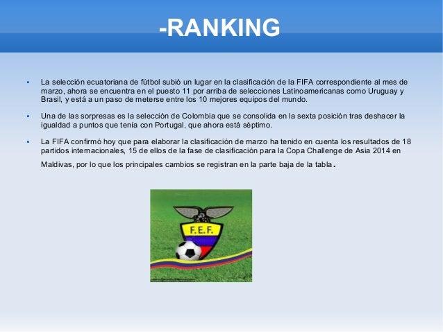 Ecuador rumbo al mundial BRASIL 2014. Slide 3