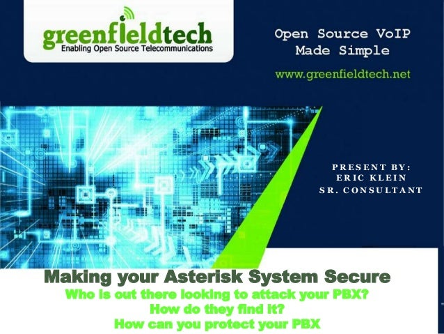 Making your Asterisk System Secure