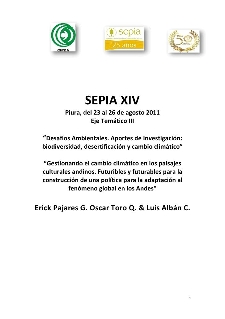 SEPIAXIV            Piura,del23al26deagosto2011                    ...