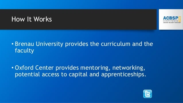 The Curriculum • MBA Core (30 credit hours) plus • Entrepreneurship • Entrepreneurial Finance • Channel Development and Ac...