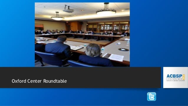 Oxford Center Roundtable