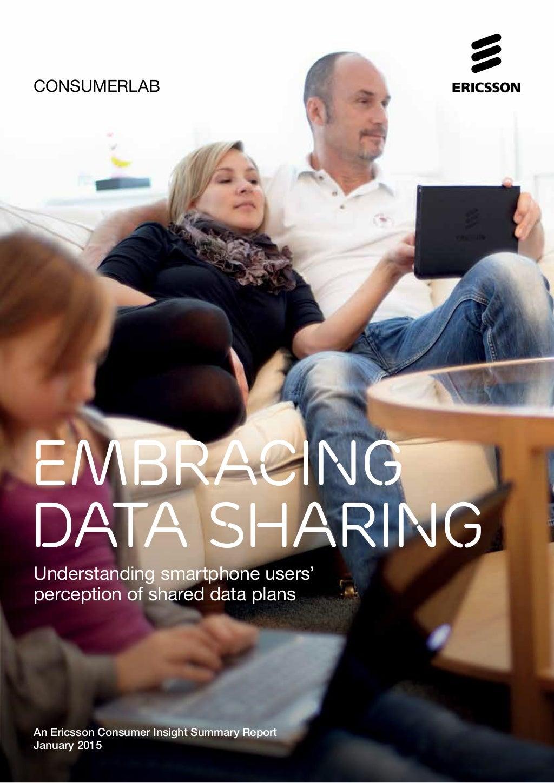 Ericsson ConsumerLab - Embracing data sharing (report)