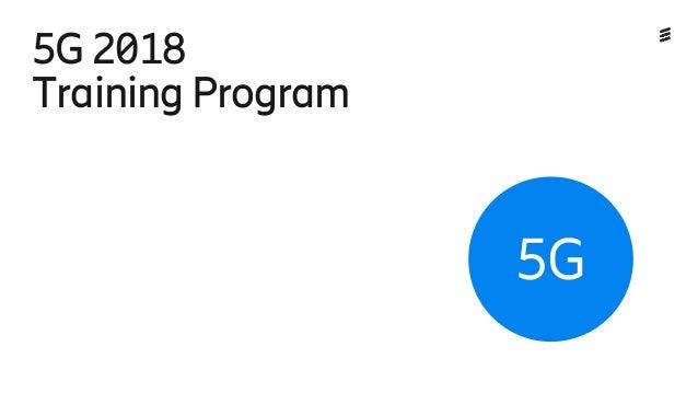 Ericsson 5G learning portfolio 2018