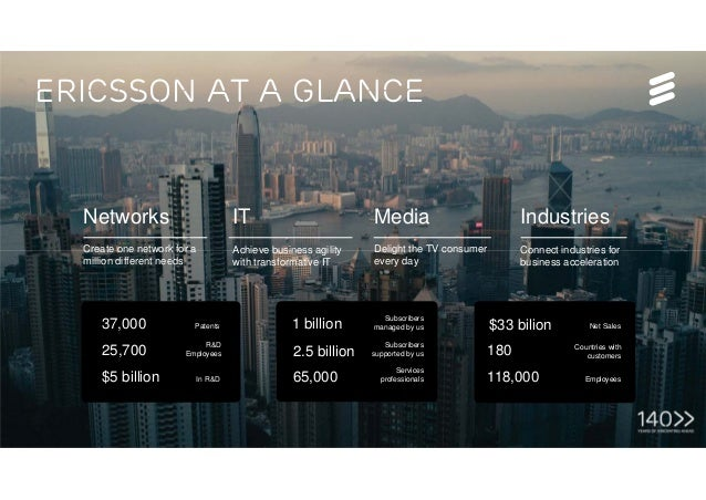Tech Week, Bucharest | © Ericsson AB 2016 | Page 15 Ericsson at a glance Subscribers managed by us Subscribers supported b...