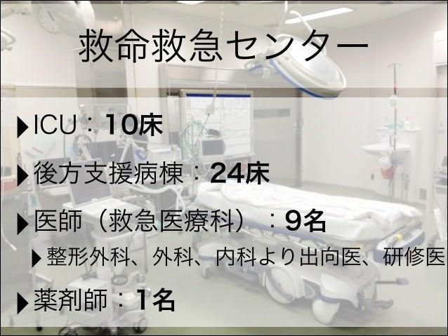 ER/ICUの薬剤師 Slide 3