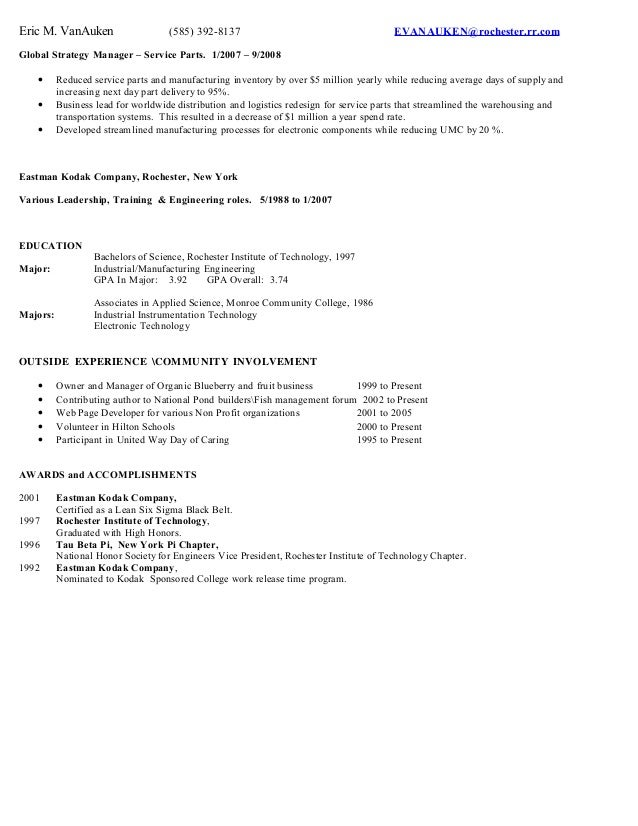 SlideShare  Executive Summary For Resume