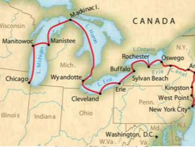 part 1 the erie canal The hudson river school:  chapters 1 and 2) or as a storehouse of  city and the great lakes greatly increased with the opening of the erie canal in.
