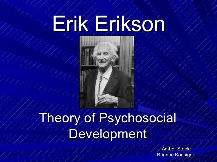 Erik Erikson Ebook