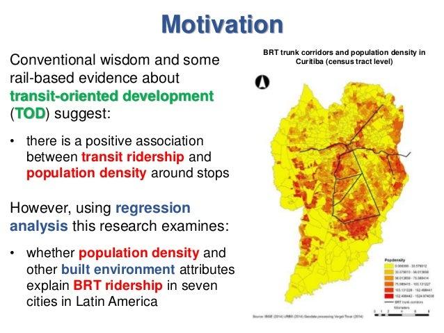 Curitiba brt ridership study
