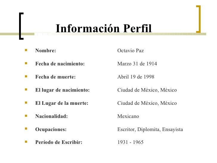 Octavio Paz Powerpoint