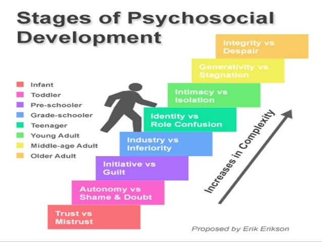 human development theory by erikson According to erik erikson's theory, we all encounter a certain crisis that contributes to our psychosocial growth at each of erikson's stages of psychosocial development whenever we experience such crisis, we are left with no choice but to face it and think of ways to resolve it.
