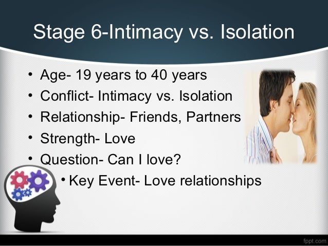 intimacy and solidarity vs isolation Intimacy vs isolation a guide to online resources about erik erikson's sixth stage of psychosocial development.