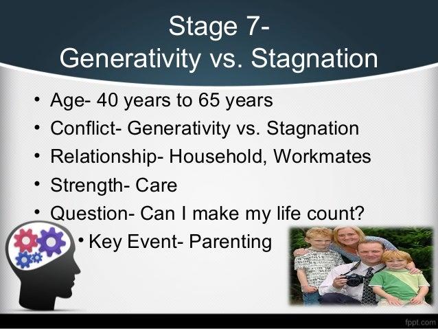 Eriksons stages of development generativity vs. stagnation