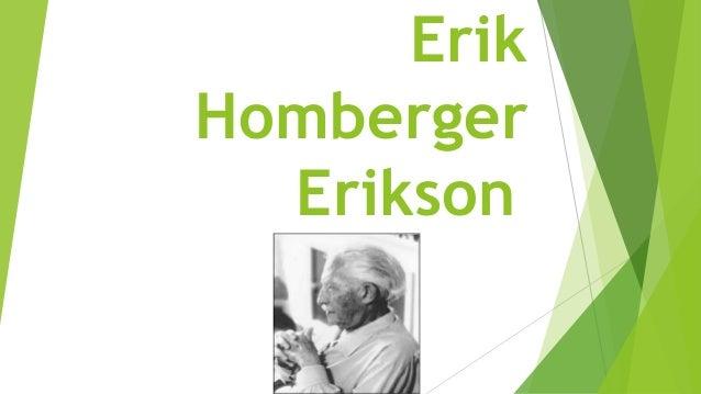 Erik Homberger Erikson