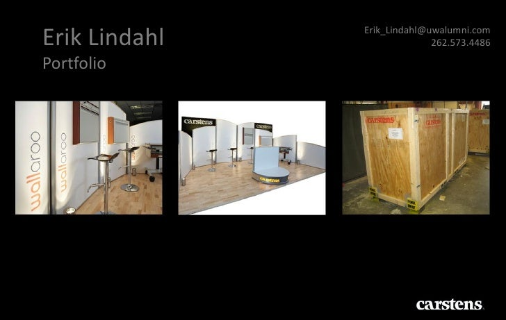 Erik_Lindahl@uwalumni.comErik Lindahl                 262.573.4486Portfolio