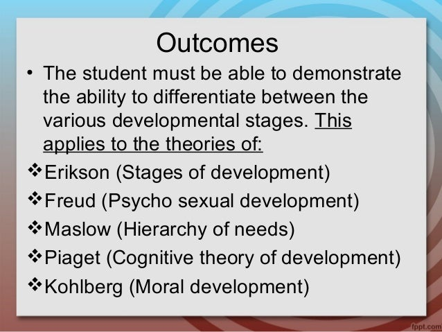 Whereas freud described psychosexual stages of development erikson described