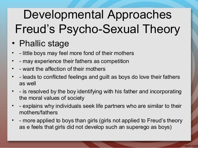 Oedipal stage of psychosexual development
