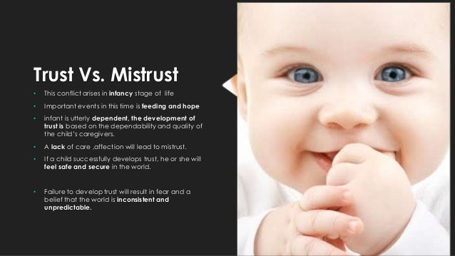 trust vs mistrust erikson stages of development