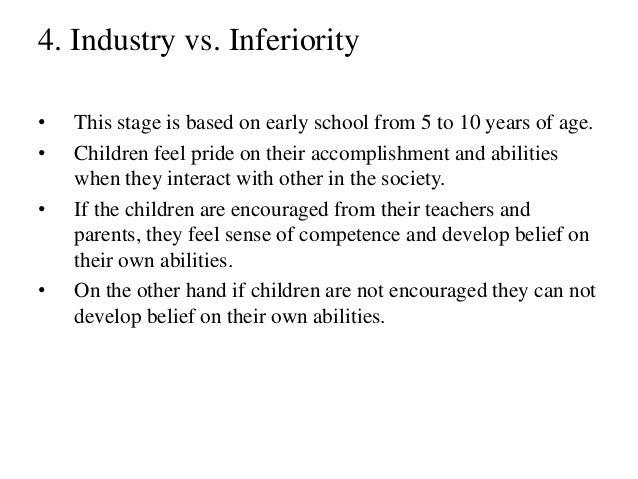 industry vs inferiority movie examples