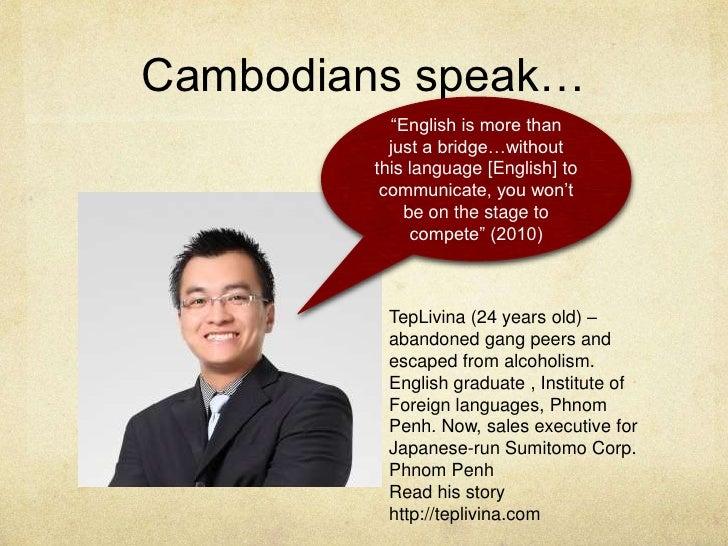 how to speak cambodia language