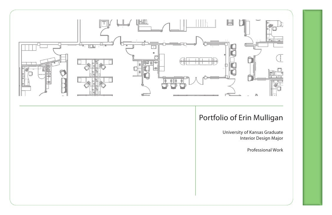portfolio of erin mulligan university of kansas graduate interior design - Interior Design Portfolio Ideas