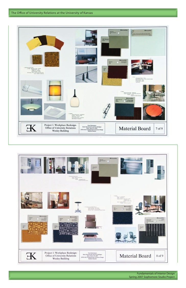 Interior design portfolio for Architecture and interior design